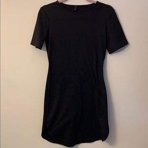 Sporty Short Black Dress